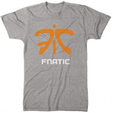 FNATIC CLASSIC GRAY T-SHIRT SIZE S