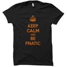 FNATIC KEEP CALM AND BE FNATIC T-SHIRT SIZE S