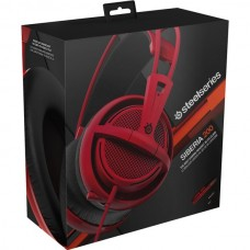 STEELSERIES SIBERIA 200 FORGED RED ГЕЙМЪРСКИ СЛУШАЛКИ