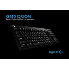 Logitech G610 Orion Red ГЕЙМЪРСКА КЛАВИАТУРА