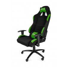 AKRACING GAMING CHAIR BLACK GREEN ГЕЙМЪРСКИ СТОЛ
