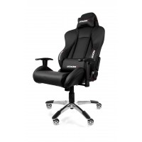 AKRACING PREMIUM GAMING CHAIR BLACK BLACK V2 ГЕЙМЪРСКИ СТОЛ