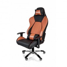 AKRACING PREMIUM GAMING CHAIR BLACK BROWN V2 ГЕЙМЪРСКИ СТОЛ