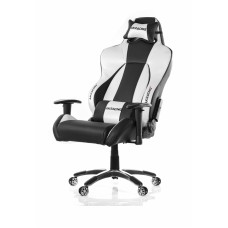 AKRACING PREMIUM GAMING CHAIR BLACK SILVER V2 ГЕЙМЪРСКИ СТОЛ