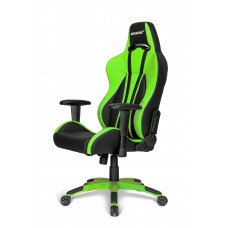 AKRACING PREMIUM PLUS GAMING CHAIR GREEN ГЕЙМЪРСКИ СТОЛ