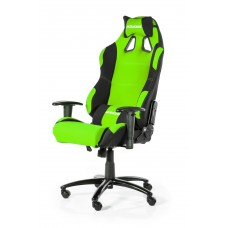 AKRACING PRIME GAMING CHAIR BLACK GREEN ГЕЙМЪРСКИ СТОЛ